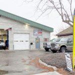 automotive diesel specialist storefront garage