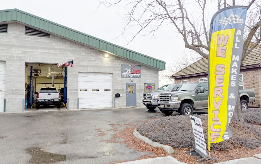 automotive diesel specialist storefront garage